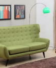 Comfubi 3 Seater fabric Wooden Sofa Comfubi106