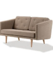 Comfubi fabric chesterfield Wooden Sofa Comfubi252