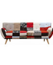 Comfubi fabric chesterfield Wooden Sofa Comfubi251