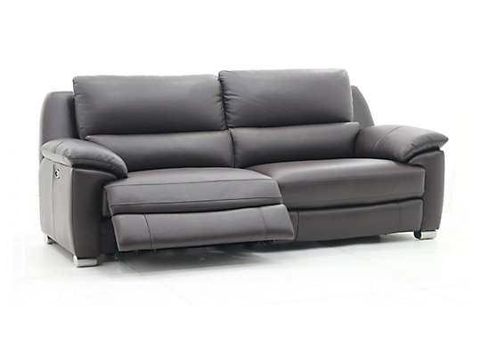 Kesick – Recliner Leather Sofa | ComfyLand