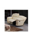 Chichest - Leather Manual Recliner Sofa
