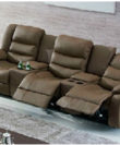 Yamas - Recliner Leather Sofa with cupholders