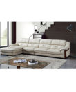 Moswald - Left Corner Leather Sofa