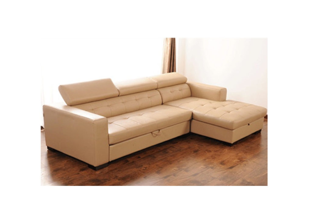 Findal left corner leather sofa sofa bed comfyland Corner couch sofa bed