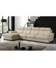 Orbott - Left Corner Leather Sofa